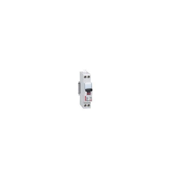 Disjoncteur - 16A  - 4,5ka - U+N - 230V~ -Ccourbe C - 1 module - DNX³ 4500 - Vis/vis
