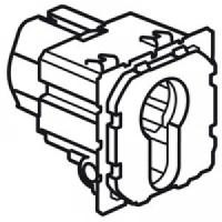 Interrupteur à clé 2 positions Céliane - 2 NO - 6A - 230 V
