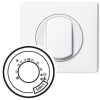 Enjoliveur Céliane - thermostat fil pilote / CPL - blanc