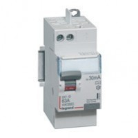 Interrupteur différentiel 25A - vis/auto - 2 modules - 230v~ - Type AC - 30ma