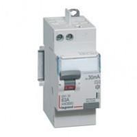 Interrupteur différentiel 25A - vis/auto - 2 modules - 230v~ - Type AC - 300ma