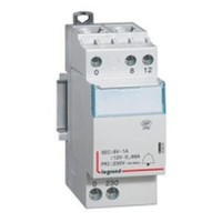 Contacteur de puissance bobine 63A - 230 v~ - 2p - 250 v~  - 2O - 2 modules