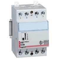 Contacteur de puissance bobine 40A - 230 v~ - 4p - 250 v~  - 4F - 3 modules