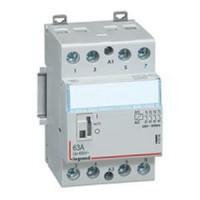 Contacteur de puissance bobine 230 v~ - 4p - 250 v~ - 63 a - 4f - 3 modules