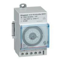 Interrupteur horaire programable analogique - cadran horizontal - hebdo - avec réserve marche