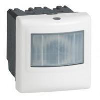 Inter détecteur de mouvements Programme Mosaic - ECO 1 - 2 fils - pour minuterie - Blanc