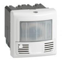 Inter détecteur présence et mouvement Programme Mosaic - ECO 2-3 fils - 2000W - Blanc