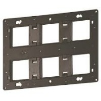 Support grand format Batibox pour Programme Céliane/Mosaic - 2x3 postes - 2x6/8 modules